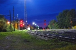 CP west Smiths Falls Yard signals MP. 0(about) Belleville Sub.