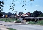 Auto-Train 4010 on eastbound L&N freight