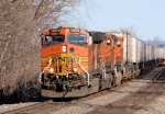 BNSF 4688 leads an intermodal