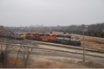 BNSF 9780 & 9313 set out a Belle
