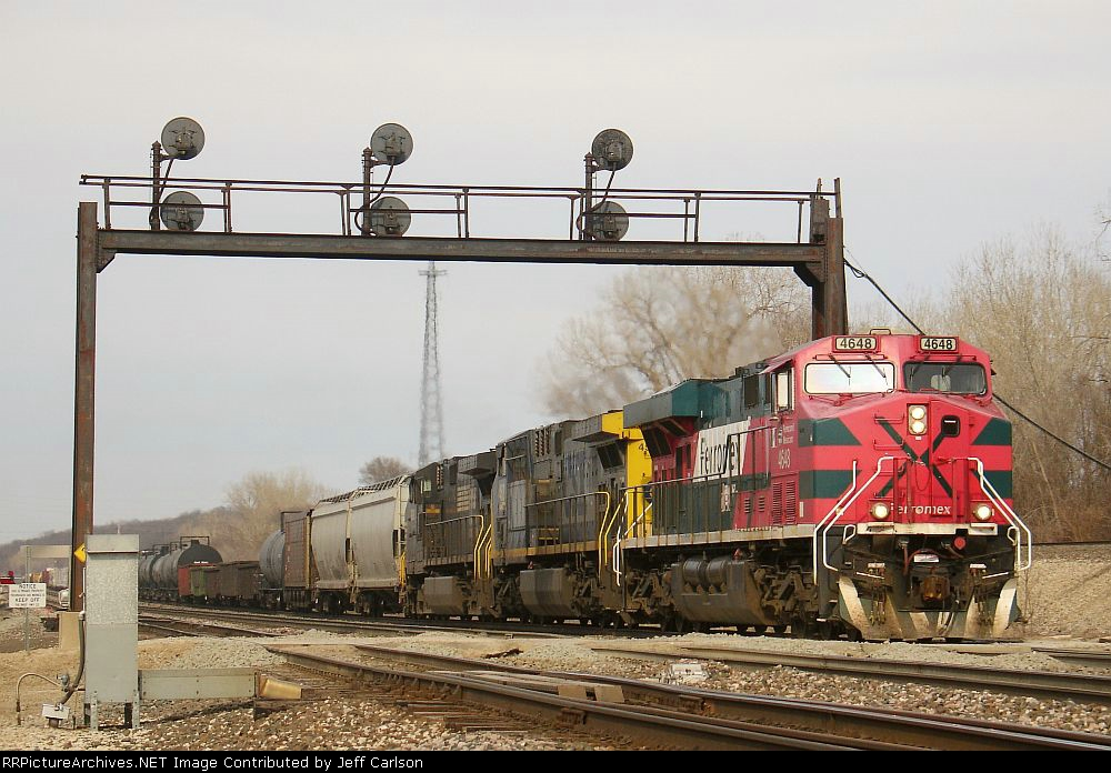 Well, there's a colorful consist