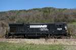 Former NS B23-7 parked in South Pittsburg