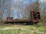 Abandoned/Stored(?) SBD pulpwood car
