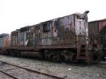 Former N&W GP9 in bad shape