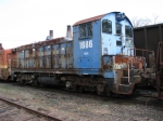 SQVR 1686 rusting to the rails