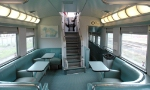 Lower Level of the Dome Car