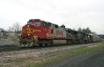 Wider View of Warbonnet Leading 212 @ 0926 hrs.