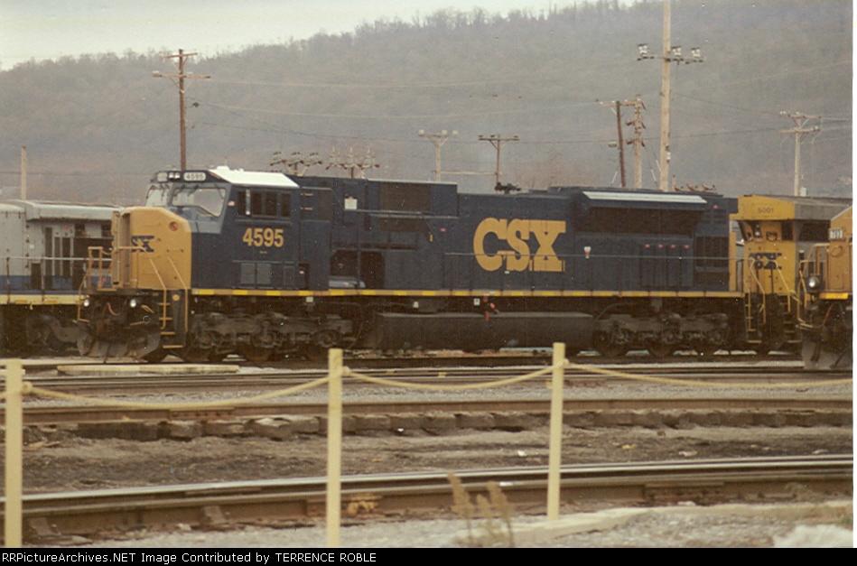 CSX 4595 YN3 (ex-CR)