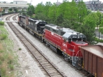 CN 5284 & IC 6201 leads a GMTX unit towards 21st Street with K95191