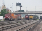 182, a yard job and YPRCP all pull out the east end of Bensenville Yard