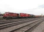One of CP's filtiest AC4400's leads 182 past one of CP's cleanest