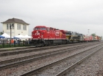 CP 9777 brings the display train past Tower B-12