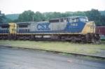 CSX C40-8W 7744