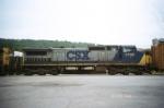 CSX C40-8W 7708