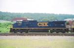 CSX C40-8W 7311