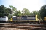 CSX SD40-2 8081