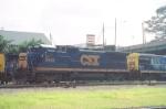 CSX B40-8 5945