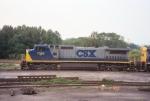 CSX C40-8W 7382