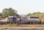 CSX SD50 8551