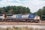 CSX C40-8W 7795