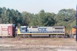 CSX C40-8 7494