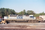 CSX SD40-2 8039
