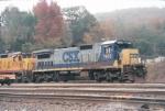 CSX C40-8 7602