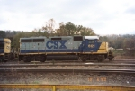 CSX GP40-2 6121