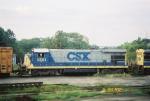 CSX B30-7 5551