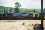 CSX C40-8 7629
