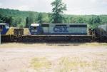 CSX SD40-2 8458
