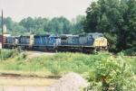 CSX C40-8W 7724