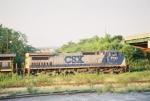 CSX C40-8W 7734