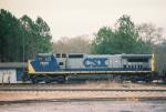 CSX C40-8W 7695