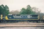 CSX C40-8 7495