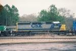 CSX SD40-2 8395