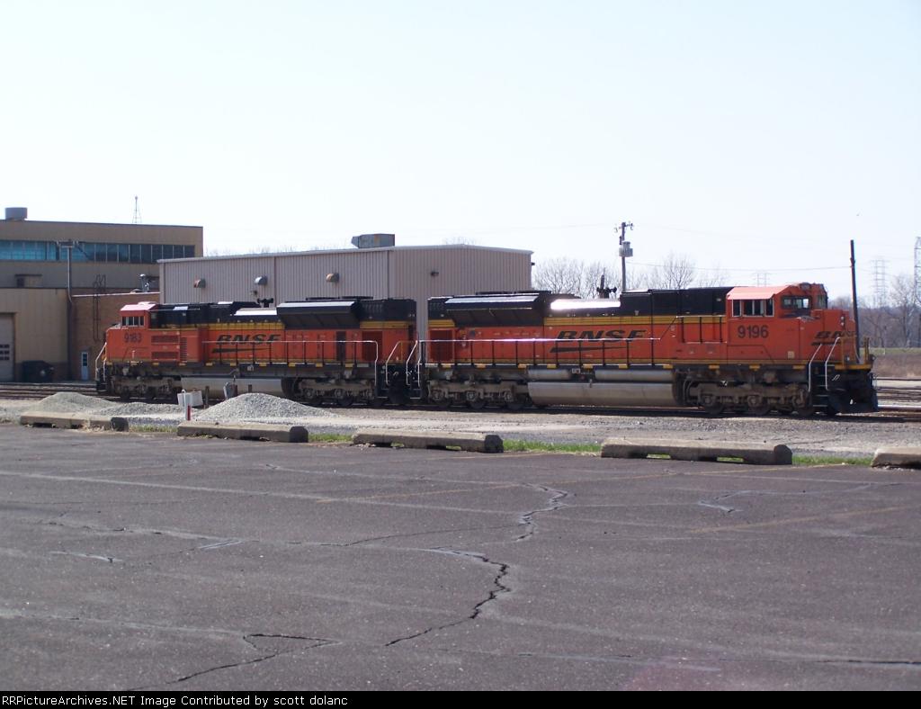 BNSF SD70ACes