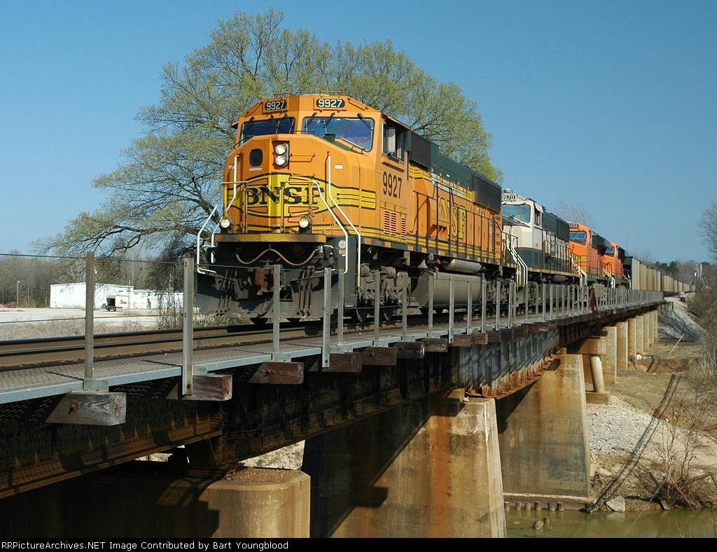 BNSF 9927