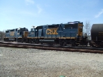 CSX 2667 and 2660