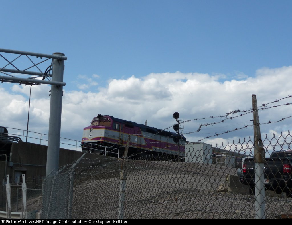 MBTA 1030 after the 3-25-2008 accident