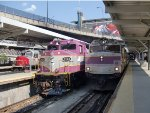 MBTA 1004, MBTA 1123, & MARC 61