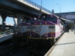 MBTA 1123 & 1127 at North Station
