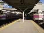 MBTA F40s 1010 & 1011 at North Station, Boston