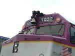 MBTA 1032's Brand New Windshield Frames