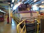 MBTA 1074 Undergoing major Prime Mover repairs at BET