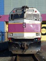 MBTA 1006 at BET