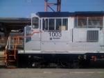 NJT 1003 in Hoboken Yard