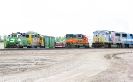 BNSF 2764 and 2133 with TFM 1617
