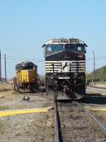 NS 9878 & UP 1951