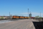 BNSF 4118 Point On A Departing Freight